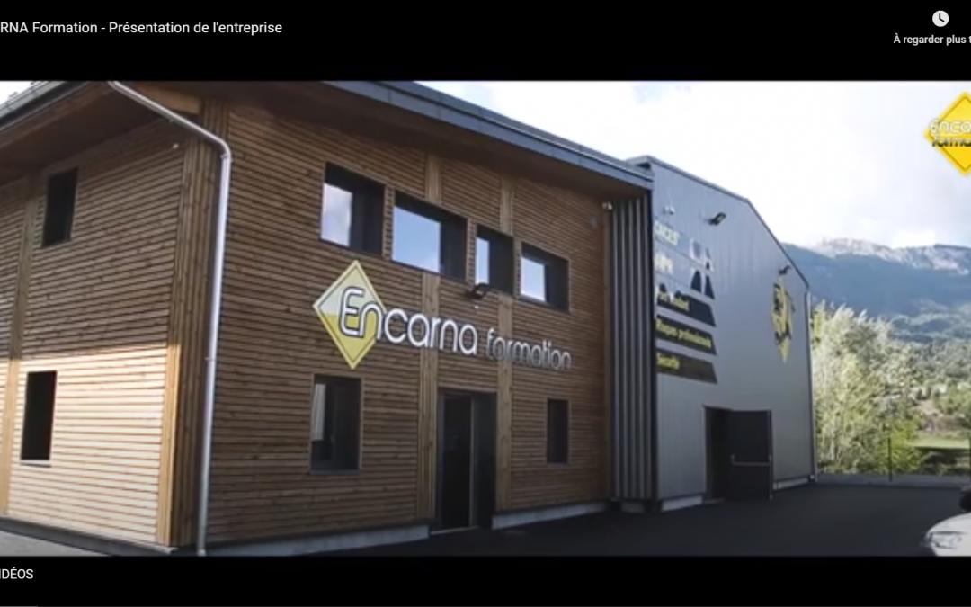 Vidéo présentant Encarna et ses formations