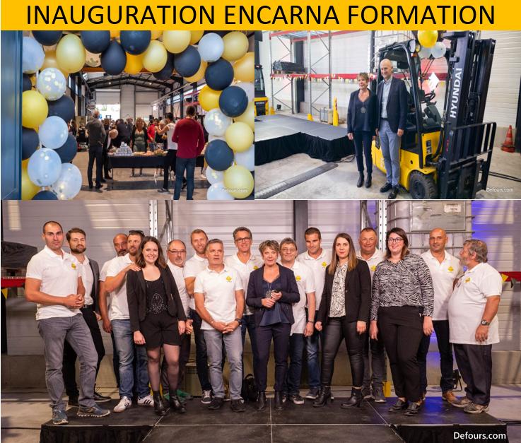 Vidéo inauguration Encarna Formation